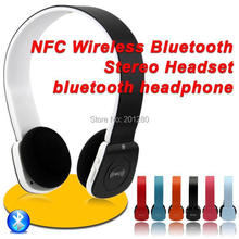 Bluetooth headsets Stereo Audio NFC Wireless Headphone Hands free Headset with MIC For iPhone iPad Smart Phone Tablet PC(China (Mainland))