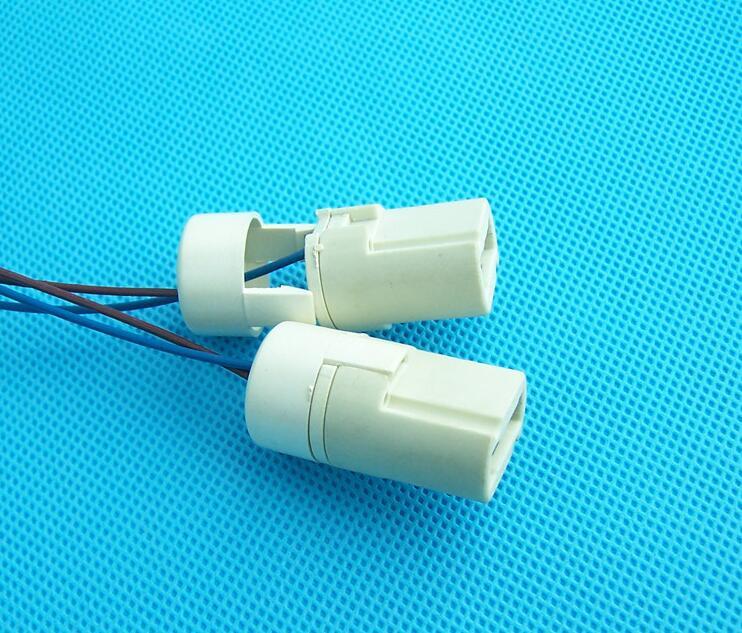 20pcs GU9 spotlights cup ceramic lamp High quality lamp beads light foot line, g9 cable, spotlights<br><br>Aliexpress