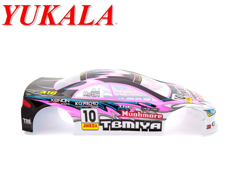 YUKALA henglong 1/10 RC drift car parts body shell 1:10 rc car Shell Body 195mm No:023b(China (Mainland))