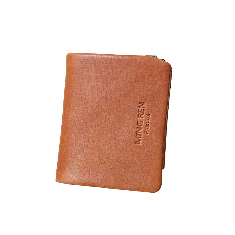 Famous Brand Top Grade Luxury Expensive 100% Unisex Cowhide Genuine Leather Men Soft Short Small Wallets Card Coin Purse Handbag(China (Mainland))