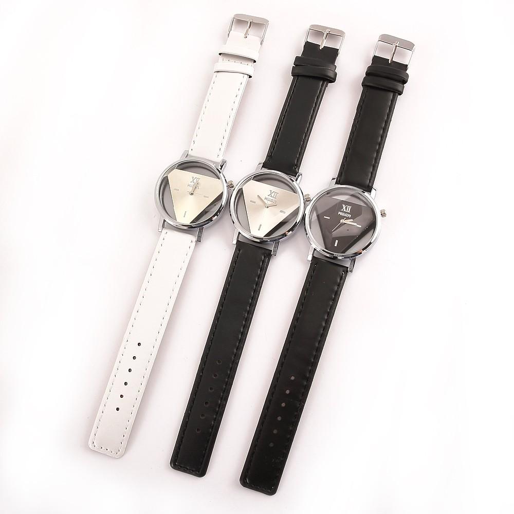 Luxury Brand Skeleton Watches Women 2016 Fashion Casual Ladies Wristwatches Quartz Watch Women Diamond Dial Clock Leather Strap