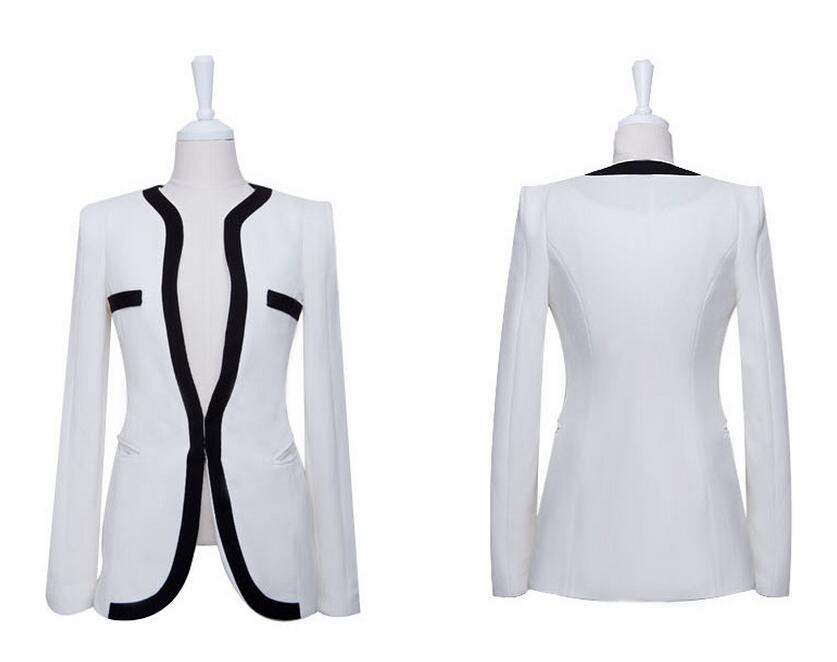 Women Blazers And Jackets 2016 Europe Station Fashionable Was Thin Shoulder Pads Suit Jacket Suits Blazer Feminino  BH731