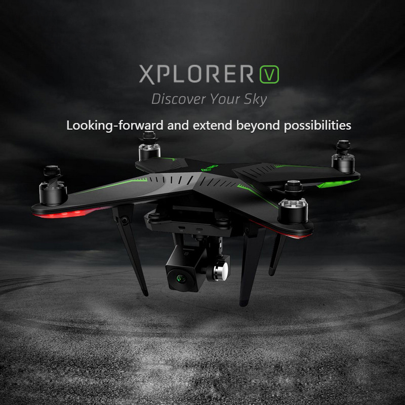 XIRO Zero Xplorer V Professional Helicopter FPV 5.8G 4-Axis RC Quadcopter Drone with 1080P Camera 5200mA Battery freeshipping(China (Mainland))
