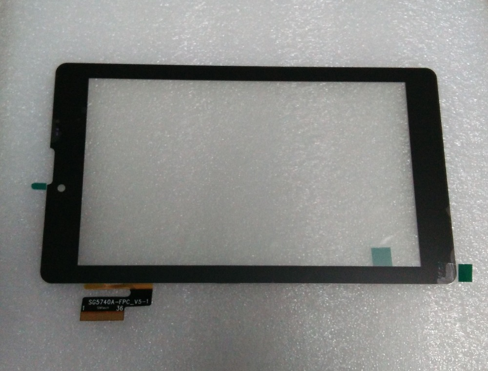 "7"" Touch Screen Digitizer Panel glass Tablet PC Code SG5740A-FPC_V5-1 3G(China (Mainland))"