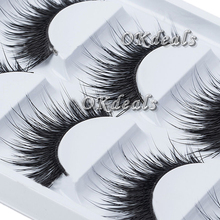 5 Pairs Natural Thick Makeup False Eyelashes Long Handmade Eye Lashes Extension Tools(China (Mainland))