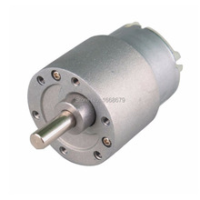 37MM Powerful High Torque 100RPM 12V DC Electricl Gear Motor for RC Car Boat Robot DIY Engine Toys(China (Mainland))