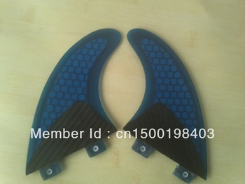 FCS/GX/Surfboard fins/Half Carbon fiber materials/Honeycomb/2 pcs per set/Professional/High quality/Competitive price