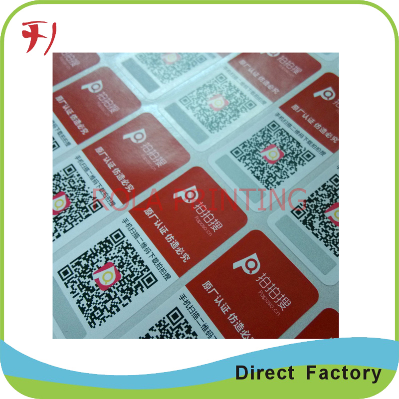 Customized Printing custom double sides printing vinyl stickers for car window(China (Mainland))