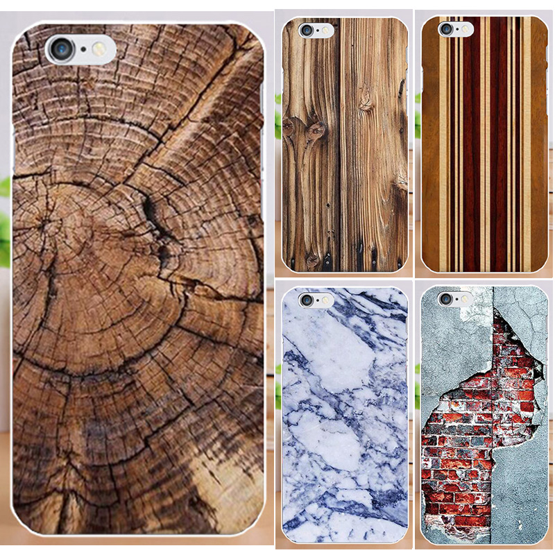 Hot Selling Fundas For iPhone4 4S Print Wood Fashion Marble PC Hard Phone Case For iPhone 4 4S Case back cover skin shell(China (Mainland))