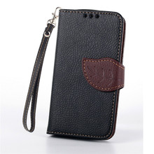 Buy Luxury Leaf Leather Wallet Cover Case Samsung Galaxy S Duos S7562 GT-S7562 gt 7562 Trend Plus S7580 S7582 GT-S7580 GT-S7582 for $3.43 in AliExpress store