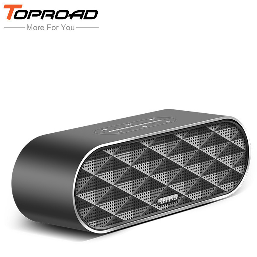 TOPROAD Mini Bluetooth Speaker Portable Wireless Computer Phone Speakers Home Theater Party Speaker Sound System 3D Stereo Music(China (Mainland))