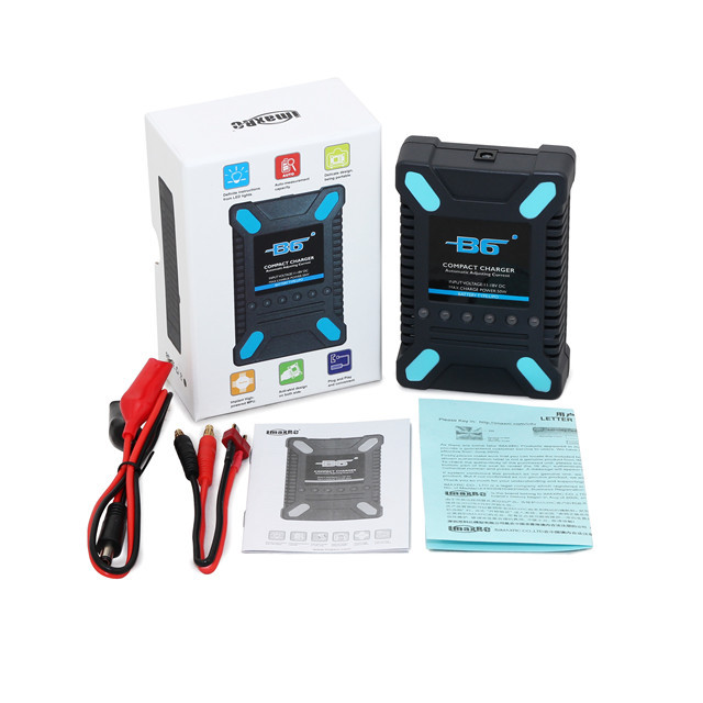 Free shipping Newest IMAX RC B6 Compact Balance charger DC for LiPo 2S-6S battery(China (Mainland))