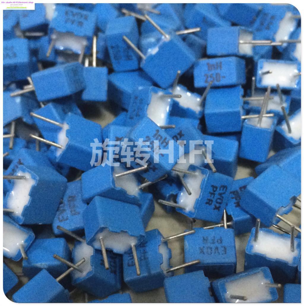 2015 Capacitor Bolsa Kit Thermomix 20pcs Evox Pfr5 1000pf 1nf 102/250v New For Audio Coupling Capacitance P5 For Free Shipping(China (Mainland))
