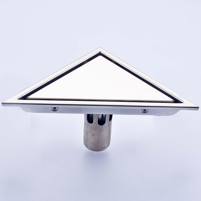 Купить Плитка Вставить Треугольник Трапных Отходов Решетки Ванная Комната Невидимых Душ Дренаж Из Нержавеющей стали Душ Натереть Drainer
