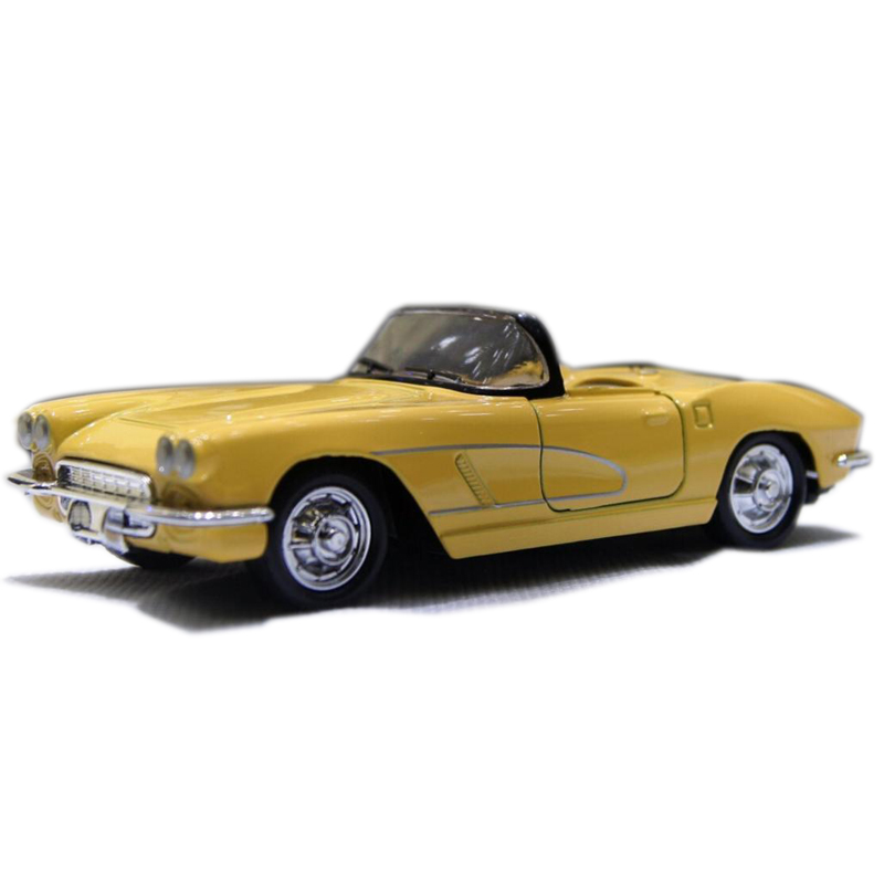 1:32 Classic Chevrolet Wecker Vintage Convertible Car Models Alloy Diecast Vehicle Pull Car Model Toys Car Collection Gifts #F(China (Mainland))