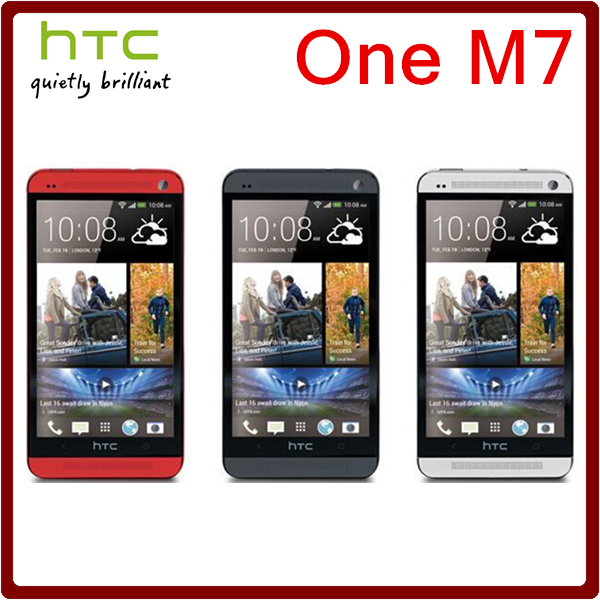 M7 Original Unlocked HTC One M7 4MP 2300mAh 32GB ROM 2GB RAM Quad Core 4.7 1080i Touchscreen Smartphone Free Shipping(China (Mainland))