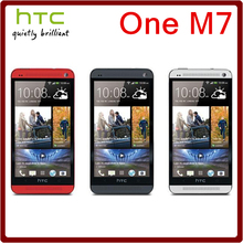 M7 Original Unlocked HTC One M7 4MP 2300mAh 32GB ROM 2GB RAM Quad Core 4.7 1080i Touchscreen Smartphone Free Shipping(China (Mainland))