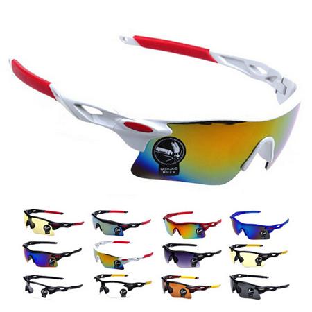 Men Women Cycling Glasses UV400 Outdoor Sports Windproof Eyewear Women Mountain Bike Bicycle Motorcycle Glasses Sunglasses(China (Mainland))