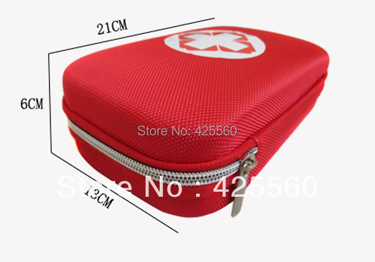 Free Shipping Outdoor Products First Aid Kit Portable Field Pack Vehienlar Household Travel Medical Kits In Emergency(China (Mainland))