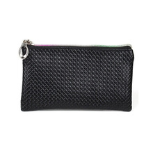 Vintage Women PU Leather Clutch Small Rhombus Pattern Coin Handbag Cell Phone Pocket Purse Bag SY3124