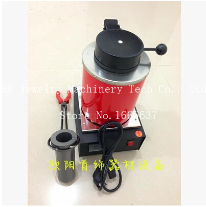 220v, 2kg gold melting furnace, jewelry electric melting furnace, metal casting machinery, goldsmith tool(China (Mainland))