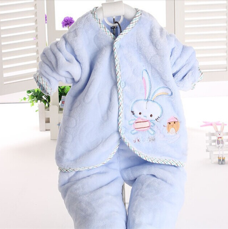 Flannel baby clothing kid 3 colors autumn children clothing baby