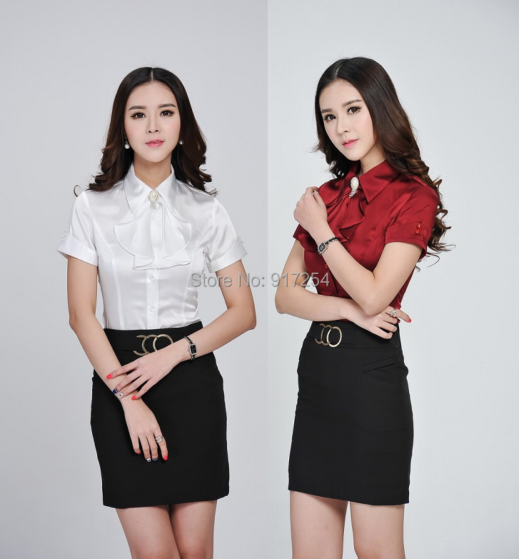 Online Buy Wholesale formal skirts blouses from China formal ...