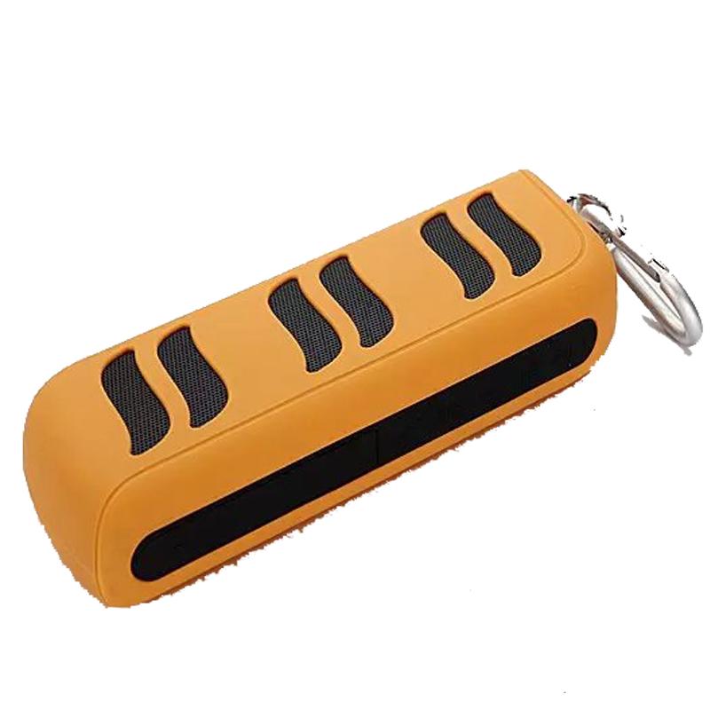 Bluetooth Wireless Speaker Outdoor Sports Portable Sound Box Support Powerbank 4400mah FM Radio Mic Hand-free for Smart Phones(China (Mainland))