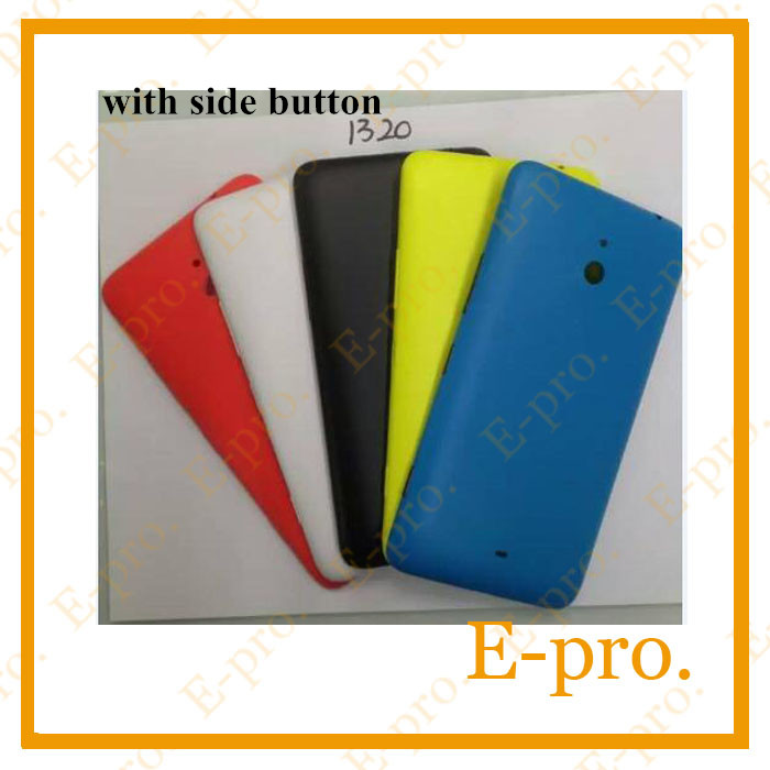 Genuine <font><b>Back</b></font> <font><b>Cover</b></font> For <font><b>Nokia</b></font> <font><b>Lumia</b></font> <font><b>1320</b></font> Battery <font><b>Cover</b></font> Door, Case Replaccement With Side Button For <font><b>Nokia</b></font> <font><b>Lumia</b></font> <font><b>1320</b></font> Housing