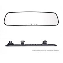 2.7 » автомобиля зеркало заднего вида даш Cam автомобиль автомобильный видеорегистратор видеорегистратор 1920 * 1080 P FHD + DDR 64 МБ Sup многоязычным
