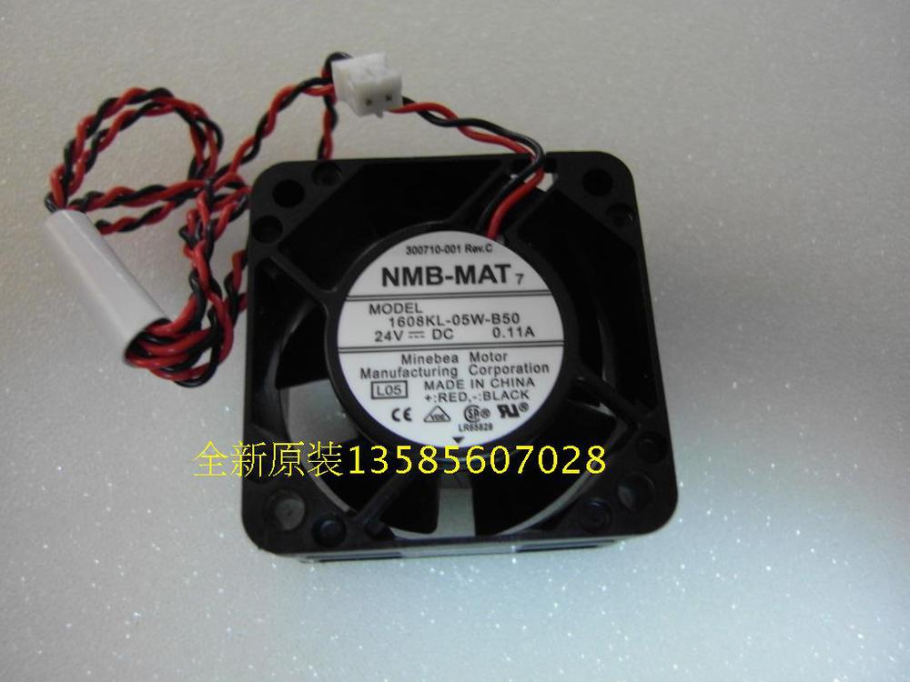 Free Shipping!New Original NMB-MAT Blowers 1608KL-05W-B50 4020 24V 0.11A two lines(China (Mainland))