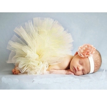 Summer style baby tutu skirt Kids tulle skirt Newborn photography clothing photo prop Children headband clothes for girls HB412(China (Mainland))