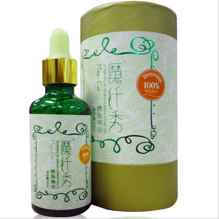 Slimming Essential Oil 100% Natural Plant Extracts Powerful Magic Losing Weight Fat Burning Weight Loss Products Slimming Creams(China (Mainland))