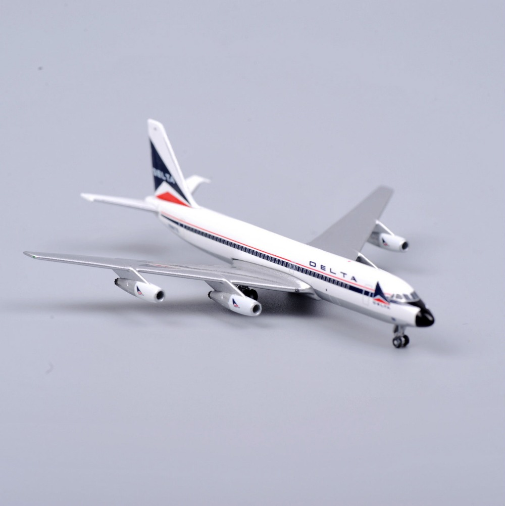 Inflight 500 1:500 Scale Airplane Model Aircraft Delta Airways CONVAIR 880 Die-Cast Collection Model Toys Kids Gifts F(China (Mainland))