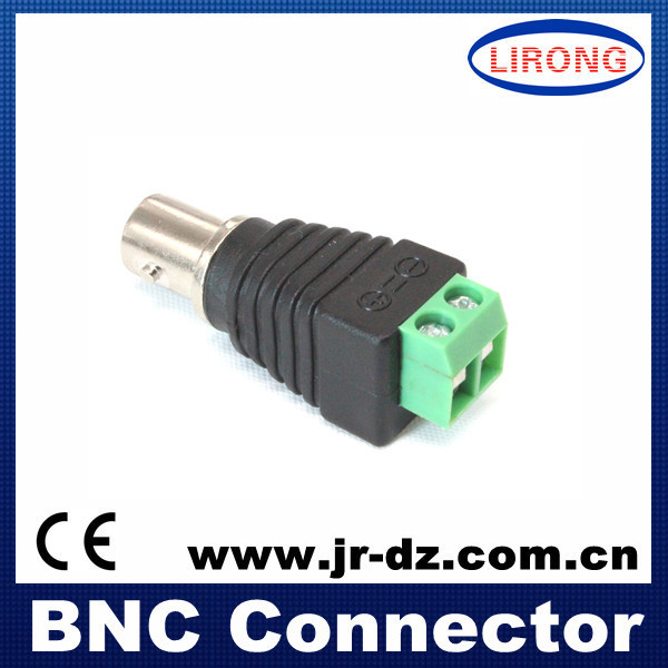 5pcs female BNC to blcok terminal connector for CCTV system(China (Mainland))