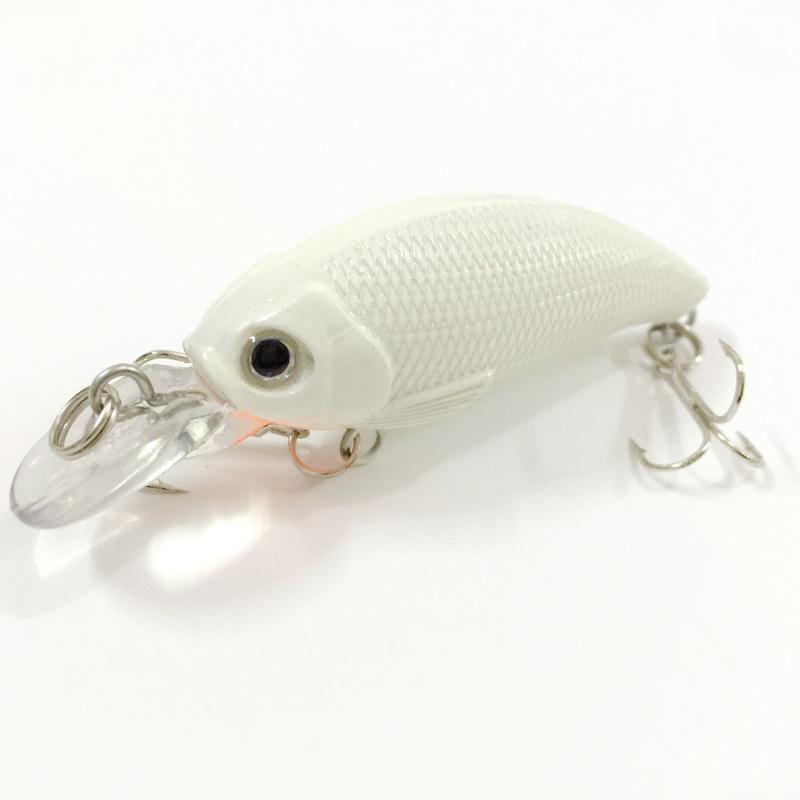 5pcs Luminous Crankbait Fishing Lure 3D Eyes Hard Bait 7.5cm 8g Isca Artificial With Treble Hooks for Sea Fishing(China (Mainland))