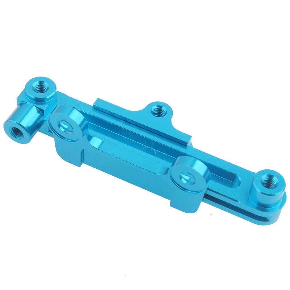 Option Aluminum Steering Rack & Bar Rock Racer For WLtoys K949 Parts 1/10 RC Climbing Crawler Truck CNC