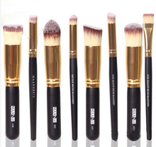 Wholesale factory Professional Makeup Cosmetic Brushes Set 8PCS Face Eyeshadow Nose Foundation Kit(China (Mainland))