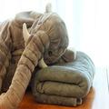 60cm Lovely Plush Elephant Pillow Blanket Cute Elephant Stlye Plush Toy Animal Toy Kids Plush Toys