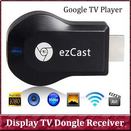 1pcs HDIM Dongle M2 III Ezcast HD 1080P Mini Pc Wifi Media Player,TV Receiver Box EZ Cast Support Sharing Online Streaming(China (Mainland))