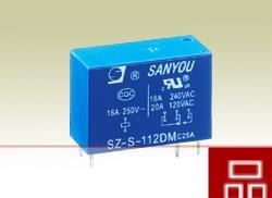 Free delivery. Relay SZ-S-109LM 16A250VAC Group 1 normally open 6 feet high sensitivity 0.54W(China (Mainland))