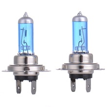 Buy 2pcs H7 55W 12V Halogen Bulb Super Xenon White Fog Lights High Power Car Headlight Lamp Car Light Source parking 5000K auto for $1.26 in AliExpress store