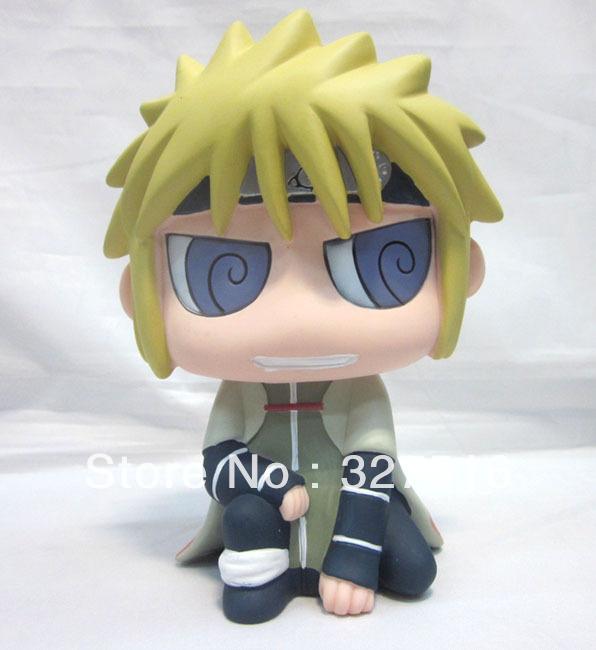 2013 New! Anime Naruto Coin bank Jiraiya Cute PVC Money box Figure Toy Free shipping(China (Mainland))