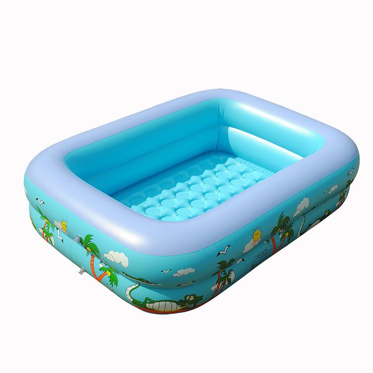New 2014 brand beach Inflatable Swimming Pool Toddler Baby swim pool piscine inflatable air mattress piscina inflavel 100* 30(China (Mainland))