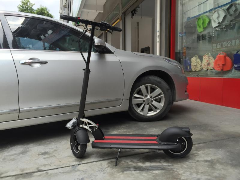Adult folding electric scooter Mini scooter lithium battery electric vehicles super endurance folding electric bike(China (Mainland))