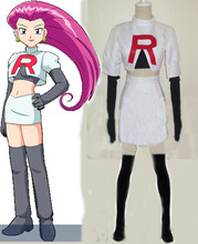 Pokemon Team Rocket Jesse Cosplay Costume Any Size Custom Size