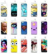 Mobile Phone Case Hot 1pc Minions Breaking Bad Knot Hybrid Design Protective White Hard Case For IPHONE 5 5s Free Shipping