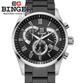 Sale Shipping Men s Sport Utility Chronograph 12 Colors Binger Top Brand Lot Dress Watch relogios