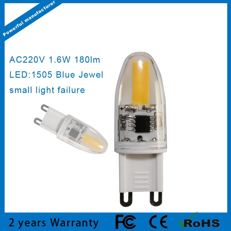 AC110V/220v cob 1W G9 Led Lights led bulbs 360 degree beam angle G9<br><br>Aliexpress
