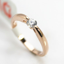 Fashion Crystal Ring 18K Rose Gold Plated Made with Genuine Austrian Crystals Full Sizes Wedding Ring For Men And Women ring(China (Mainland))